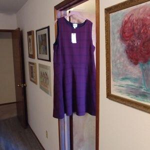 Leota Ava dress in red plaid, NWT, 2x